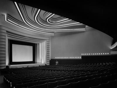 "Movie Theater ""Normandie"" in Paris Built in 1937"