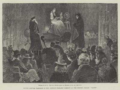 Moving Costume Tableaux by the Garrick Dramatic Company at the People's Palace, Faust-William Douglas Almond-Giclee Print