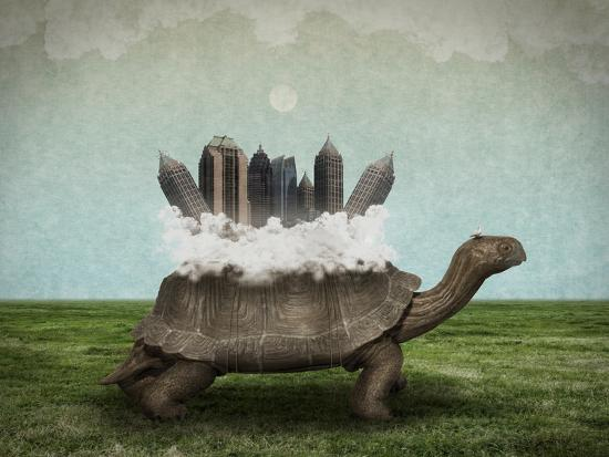 Moving Forward-Greg Noblin-Art Print