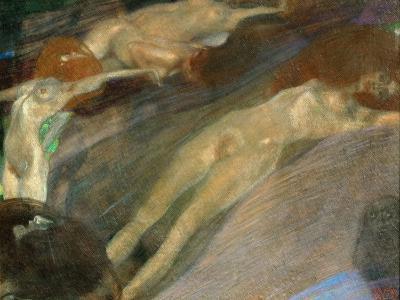 Moving Water, 1898-Gustav Klimt-Giclee Print