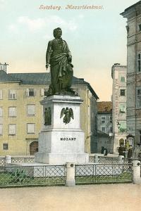 Mozart Memorial, Salzburg, Austria