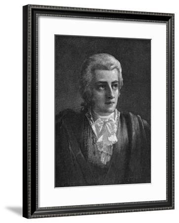 Mozart Vogel--Framed Giclee Print