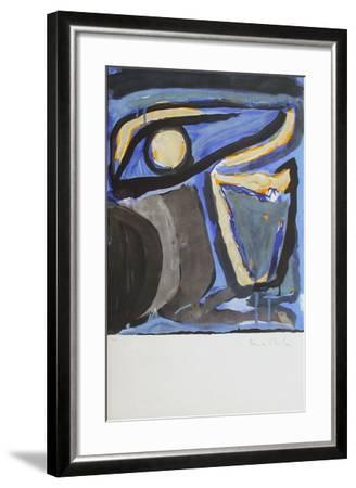 MP 065 Musée National d'Art Moderne-Bram van Velde-Framed Limited Edition