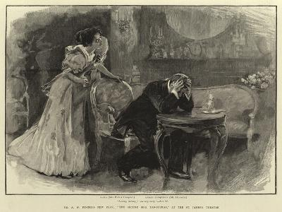 Mr a W Pinero's New Play, The Second Mrs Tanqueray, at the St James's Theatre--Giclee Print