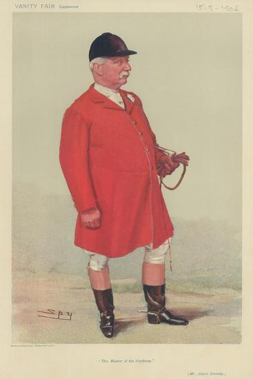 Mr Albert Brassey-Sir Leslie Ward-Giclee Print
