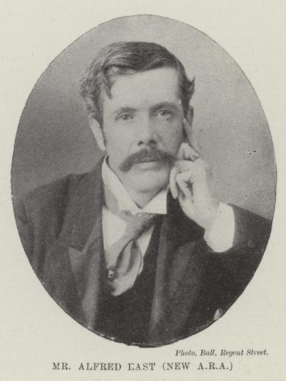 Mr Alfred East--Giclee Print
