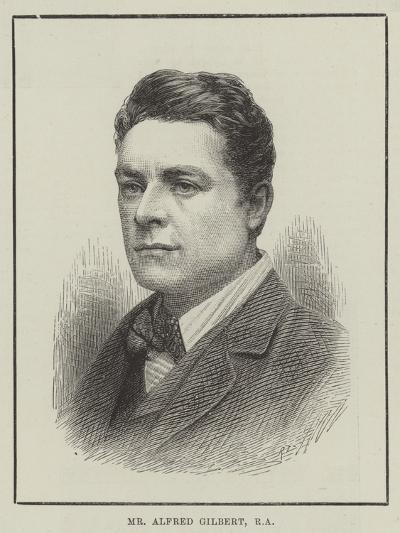 Mr Alfred Gilbert--Giclee Print