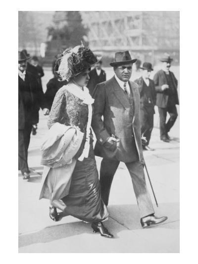 Mr. and Mrs. Enrico Caruso--Art Print