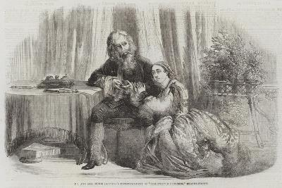 Mr and Mrs Henri Drayton's Entertainment of Illustrated Proverbs, Regent-Street--Giclee Print