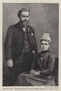 Mr and Mrs Johnson, English Missionaries Killed in Madagascar