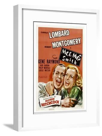 Mr. and Mrs. Smith, Robert Montgomery, Carole Lombard, 1941