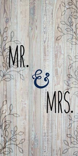 Mr and Mrs-Kimberly Allen-Art Print