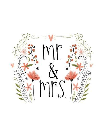 Mr and Mrs-Katie Doucette-Art Print