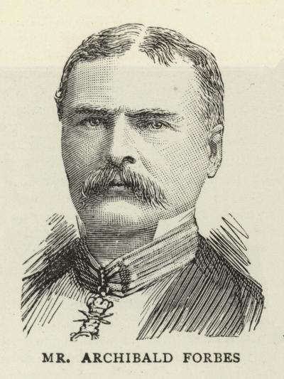 Mr Archibald Forbes--Giclee Print