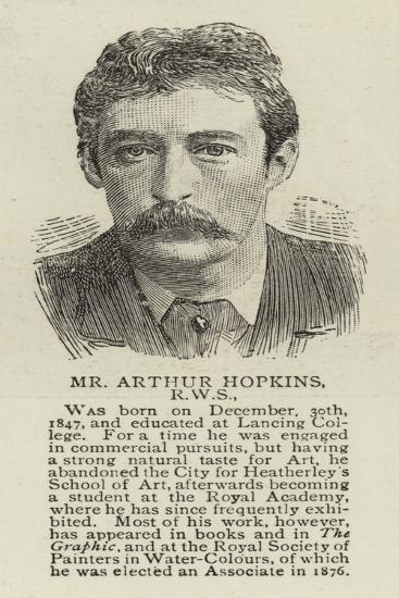 Mr Arthur Hopkins, Rws--Giclee Print