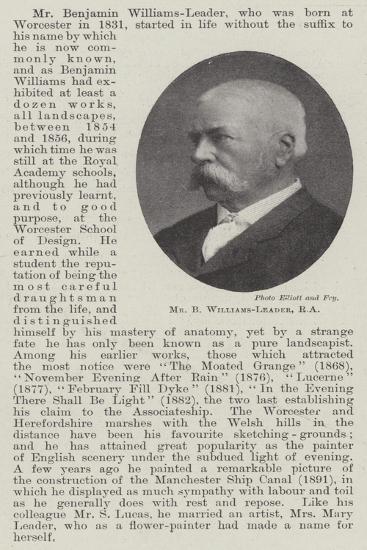 Mr B Williams-Leader--Giclee Print
