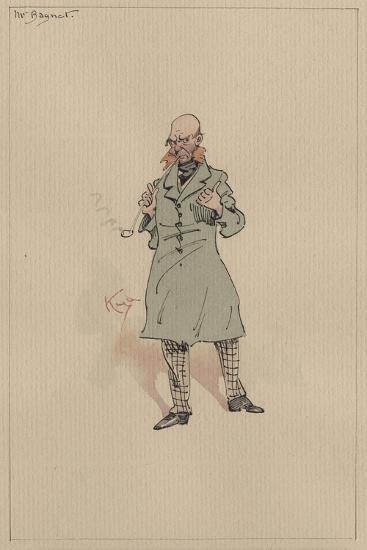 Mr Bagnet, C.1920s-Joseph Clayton Clarke-Giclee Print