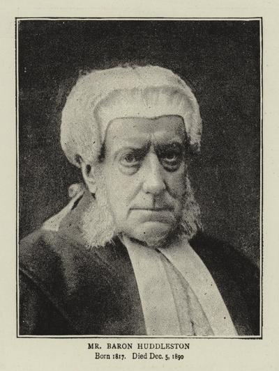Mr Baron Huddleston--Giclee Print