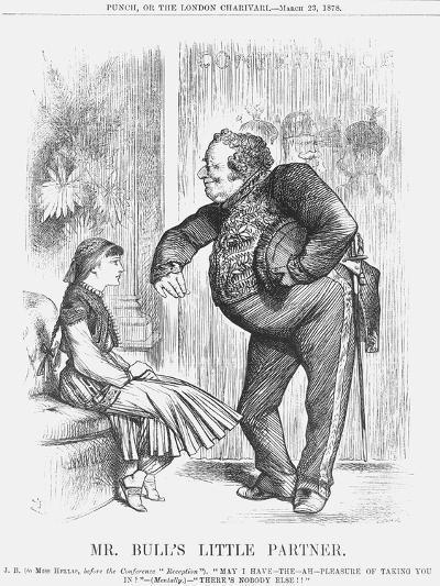 Mr Bull's Little Partner, 1878-Joseph Swain-Giclee Print