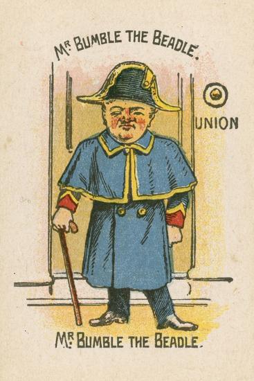 Mr Bumble the Beadle--Giclee Print