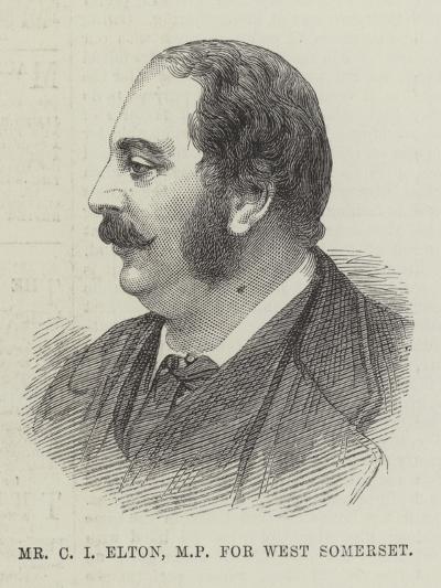 Mr C I Elton, Mp for West Somerset--Giclee Print