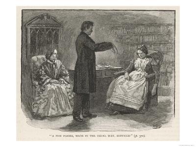 Mr. C N Barham Hypnotises His Servant Who Manifests Clairvoyance When in the Hypnotic State--Giclee Print