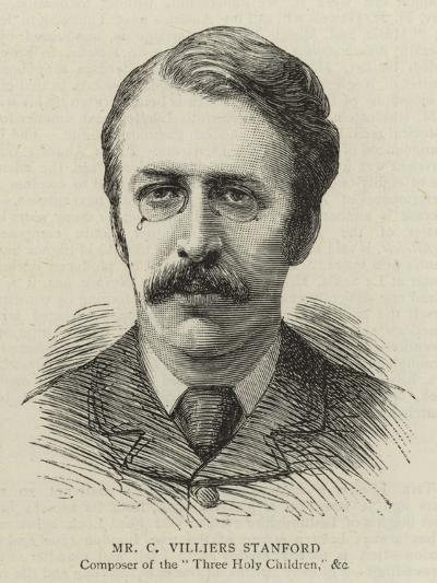 Mr C Villiers Stanford--Giclee Print