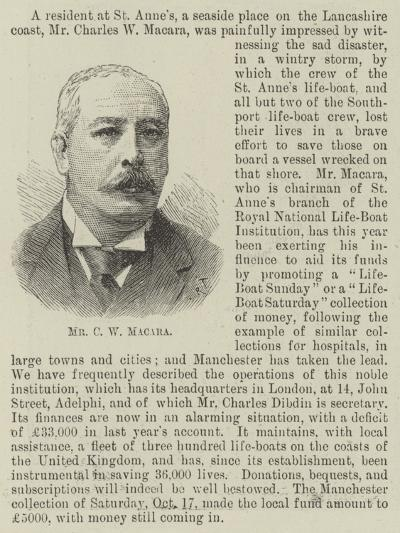 Mr C W Macara--Giclee Print