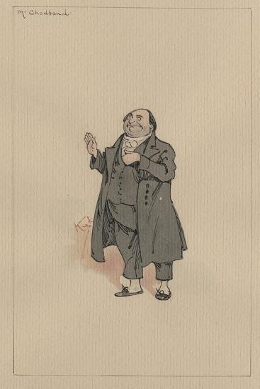 Mr Chadband, C.1920s-Joseph Clayton Clarke-Giclee Print