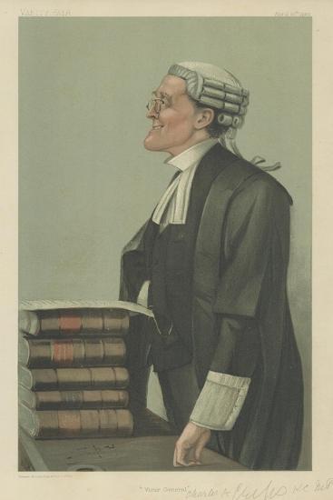 Mr Charles a Cripps-Sir Leslie Ward-Giclee Print
