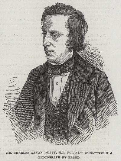 Mr Charles Gavan Duffy, Mp for New Ross--Giclee Print
