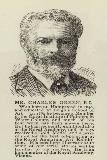 Mr Charles Green--Giclee Print