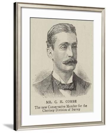 Mr Charles Harvey Combe--Framed Giclee Print