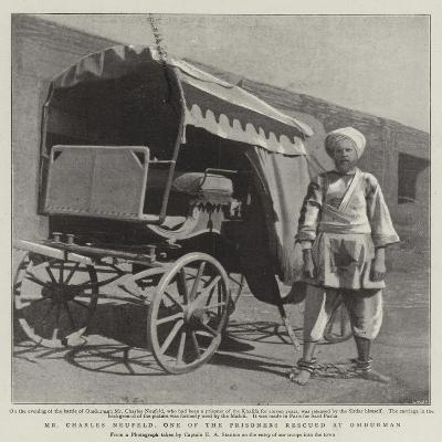 Mr Charles Neufeld, One of the Prisoners Rescued at Omdurman--Giclee Print