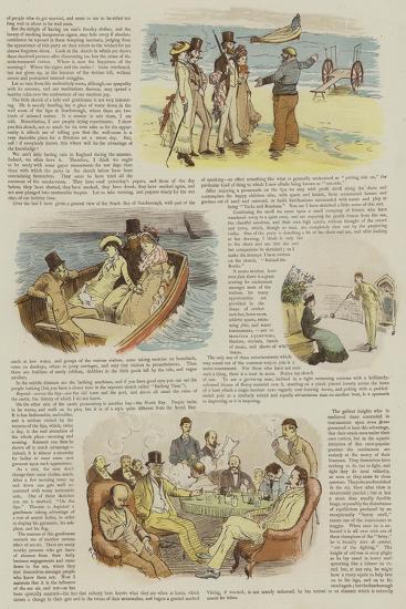 Mr Chumley's Holidays--Giclee Print