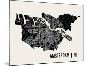 Amsterdam by Mr City Printing