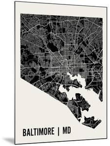 Baltimore by Mr City Printing