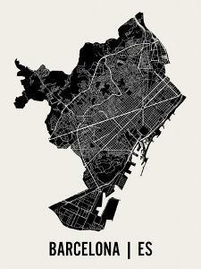 Barcelona by Mr City Printing