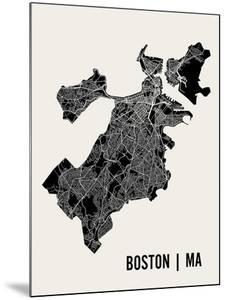 Boston by Mr City Printing