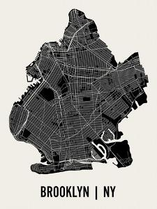 Brooklyn by Mr City Printing