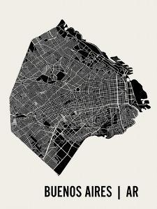 Buenos Aires by Mr City Printing