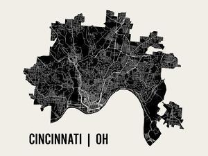 Cincinnati by Mr City Printing