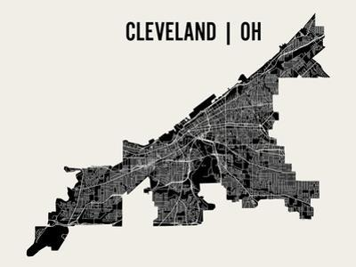Cleveland by Mr City Printing