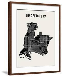 Long Beach by Mr City Printing