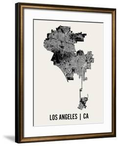 Los Angeles by Mr City Printing