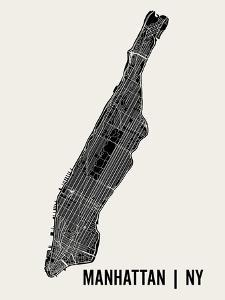 Manhattan by Mr City Printing