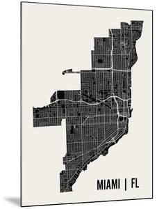 Miami by Mr City Printing