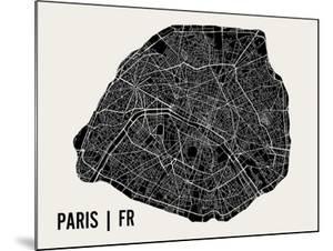 Paris by Mr City Printing