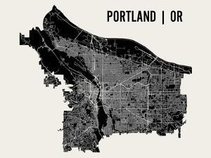 Portland by Mr City Printing