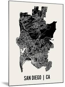 San Diego by Mr City Printing